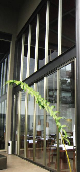 puertas y ventanas corrediza con puente térmico, puertas corredizas con puente térmico, ventanas corredizas con puente térmico - serie L-86 de EUROVEN | ALCRISTAL C.A.