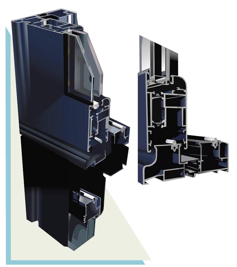 serie corredera elevable, puertas de corredera elevable | EUROVEN puertas y ventanas | Una marca de ALCRISTAL C.A.