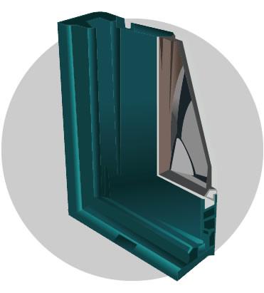 serie perimetral, perfileria, puertas y ventanas ecuador | EUROVEN